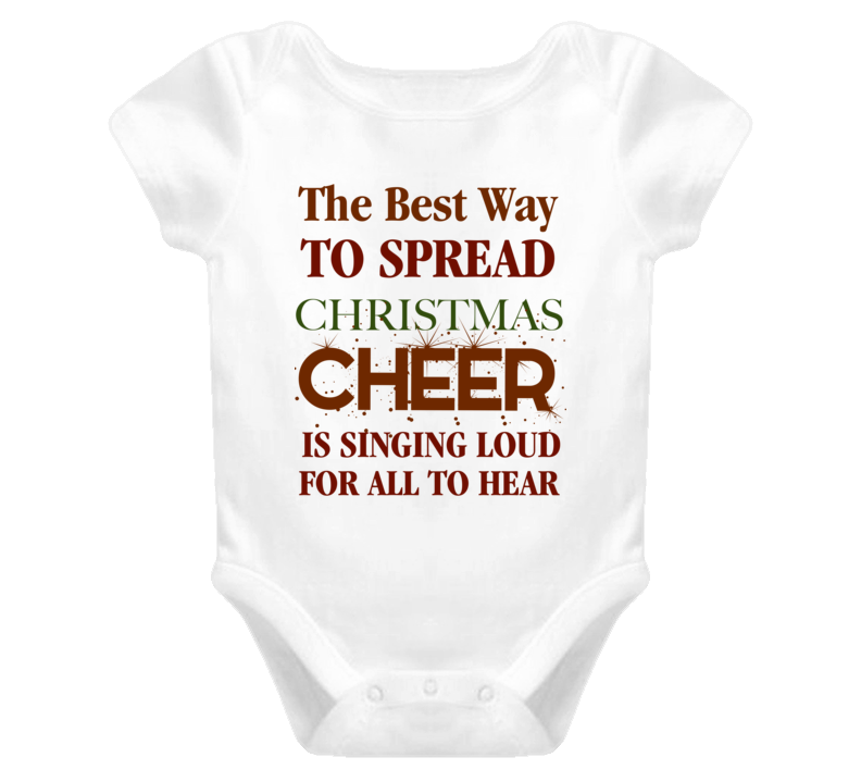 Elf Movie Christmas Cheer Baby Onesie Buddy the elf Baby Onesie
