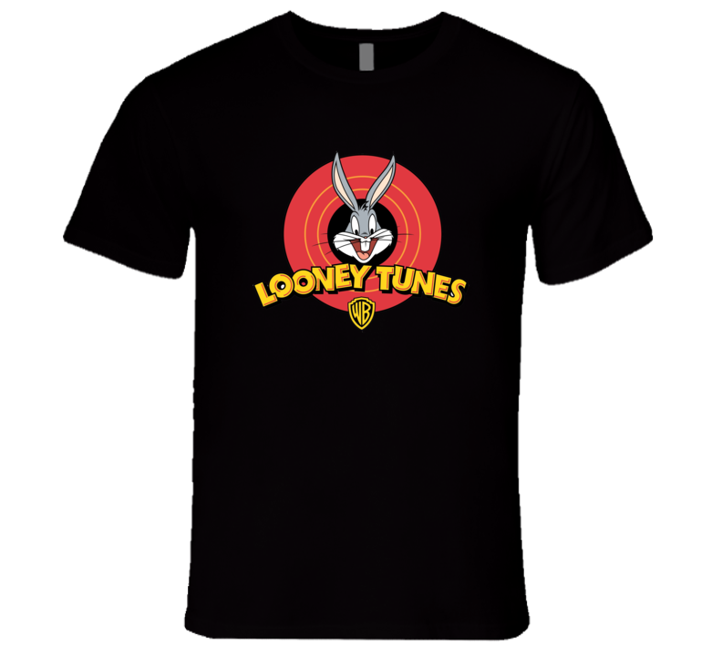 Looney Tunes Retro Bugs Bunny That's all Folks T-Shirt