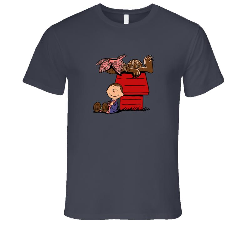 Stranger Things Peanuts T-Shirt Stranger Peanauts Tshirt