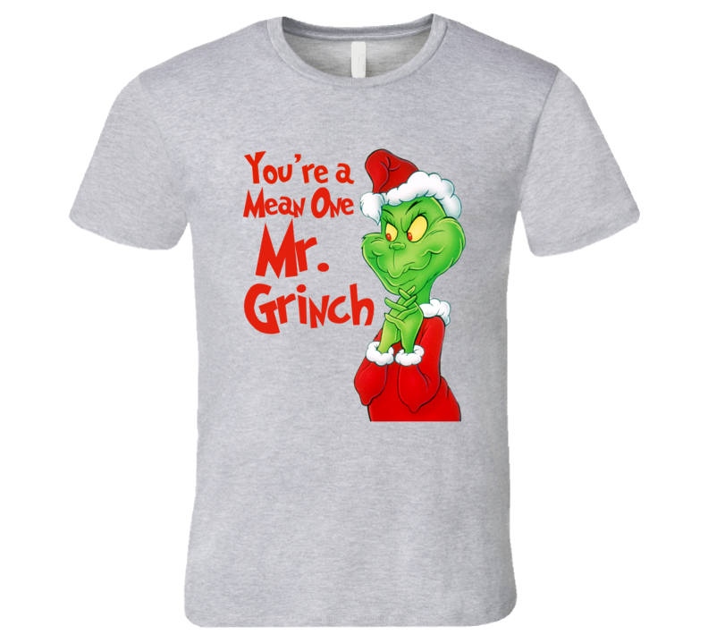 How The Grinch Stole Christmas Classic Cartoon Graphic T-Shirt