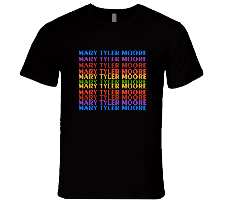 MARY Tyler Moore TV Show Logo Intro T-Shirt