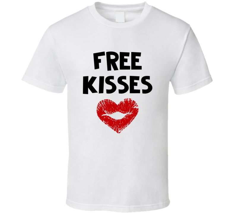 Free Kisses Trending Support Love Not Hate Popular Style T-shirt