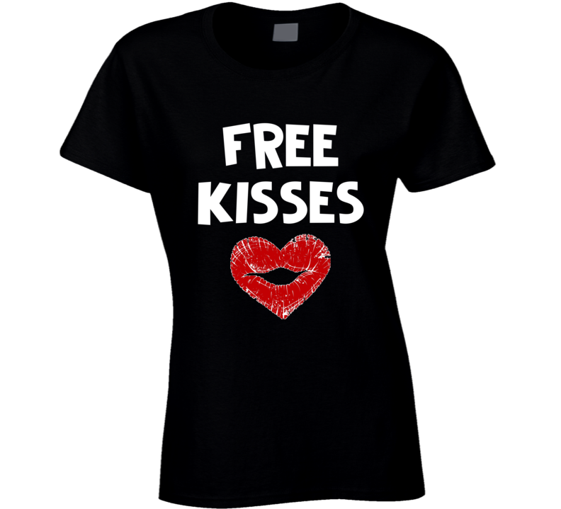 Free Kisses Support Love End Hate World Peace And Love T-shirt