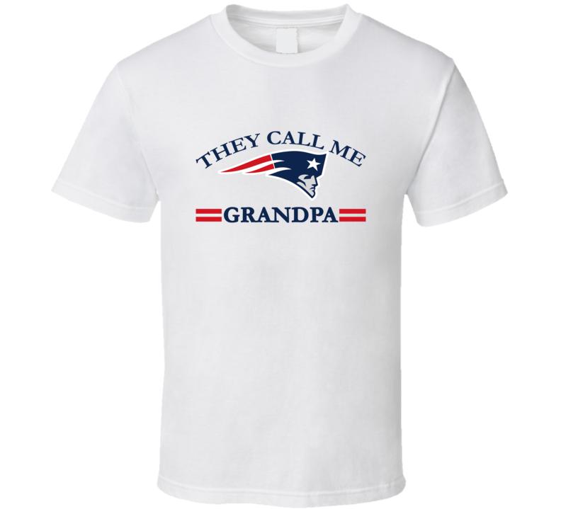 They Call Me Grandpa They Call Me Papa T-shirt Football Grandfather Shirt Football Grandpa Tshirt