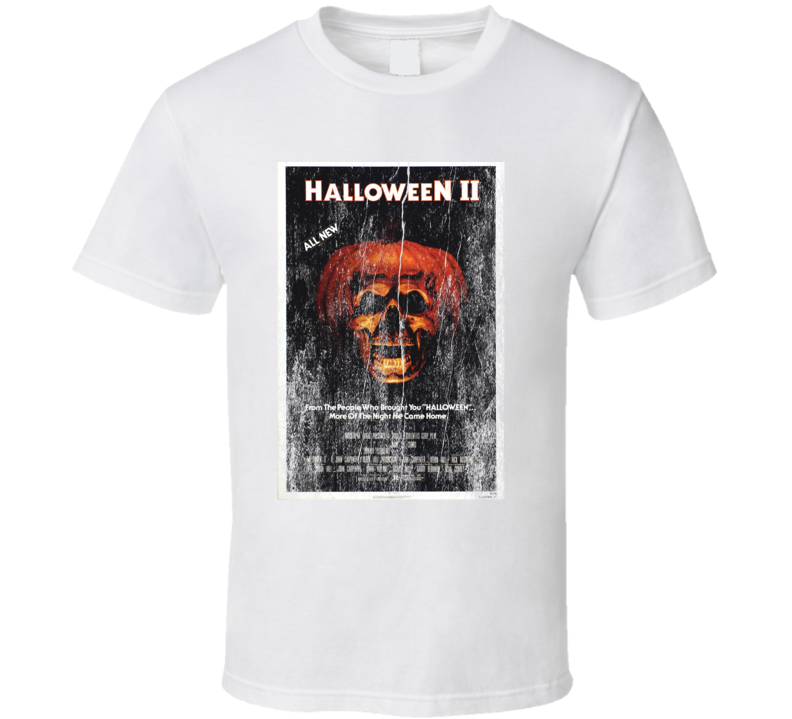 Halloween 2 Original Movie Vintage Poster T Shirt