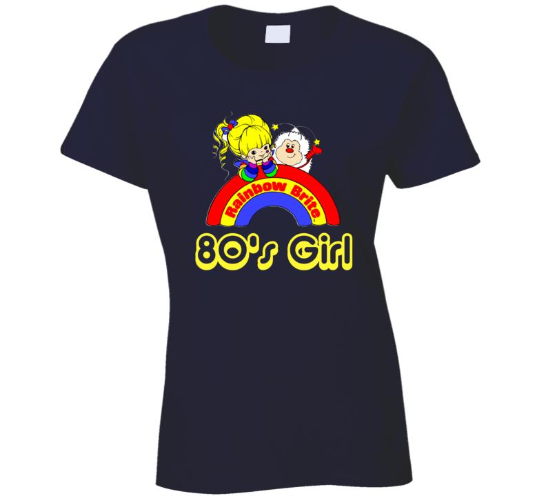 Rainbow Brite 80's Girl Retro Cartoon 1980's T-shirt