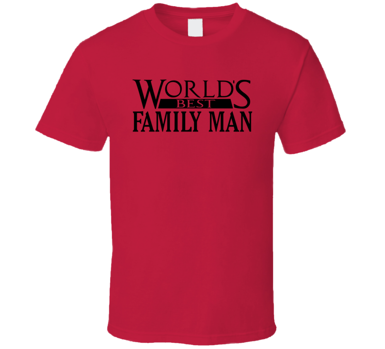 World's Best Family Man Christmas Vacation Movie Dad T-shirt