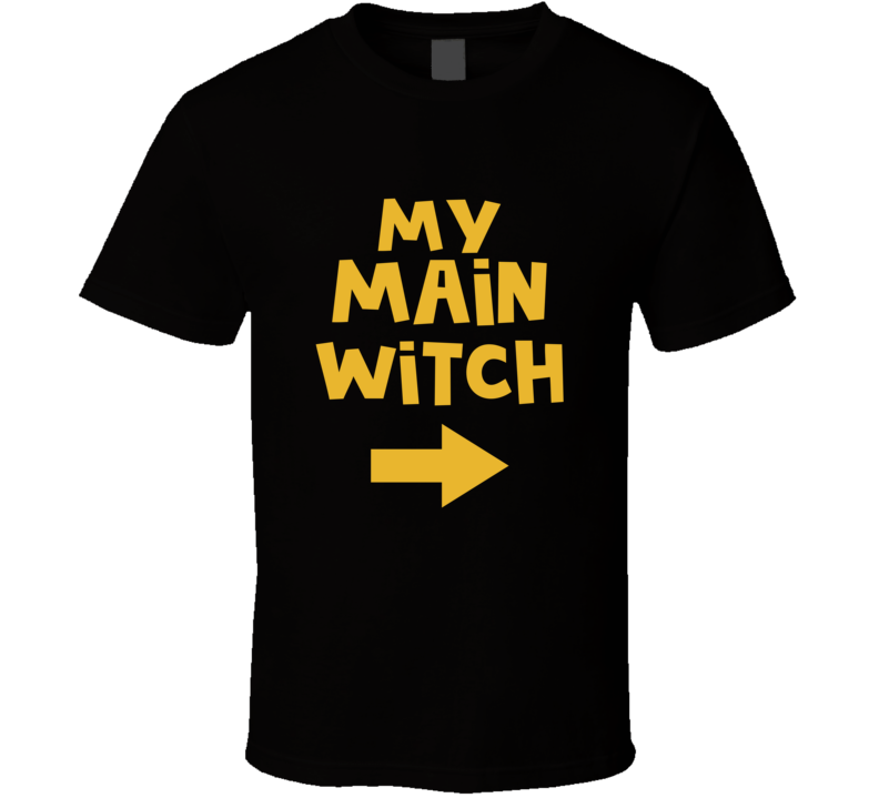 My Main Witch Halloween Couples Costume T-shirt