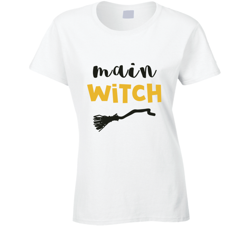 Main Witch Ladies Couples Costume T-shirt
