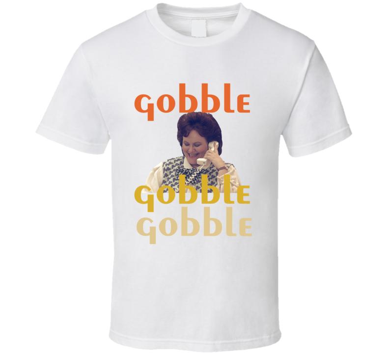 Trains Planes And Automobiles Gobble Gobble Gobble Marathon Lady T-shirt