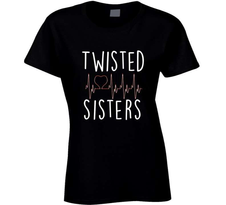 Grey's Anatomy Apparel Twisted Sisters Tv Girl Fan T-shirt
