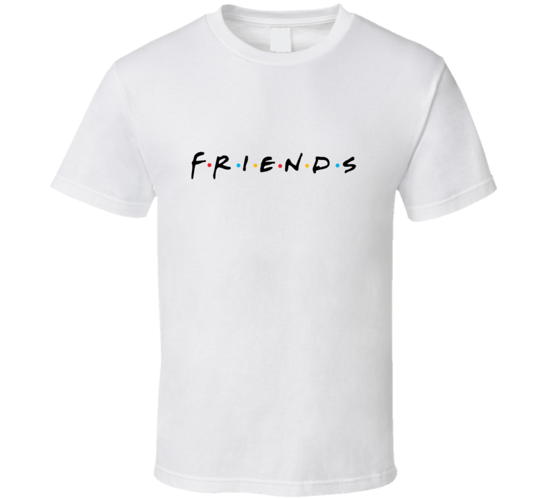 Friends Tv Show Logo 90's Retro Television Show Classic T Shirt