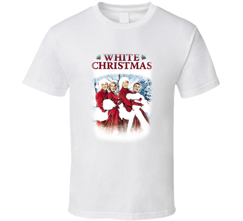White Christmas Movie Poster Vintage Christmas Movie T Shirt