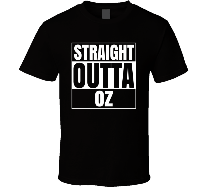 Straight Outta Oz Video Game T Shirt