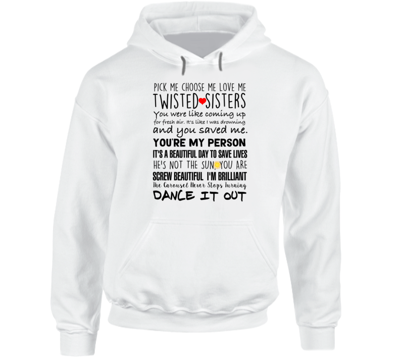 Grey's Anatomy Cristina Yang Derek Shepherd You're My Person Quotes Hoodie