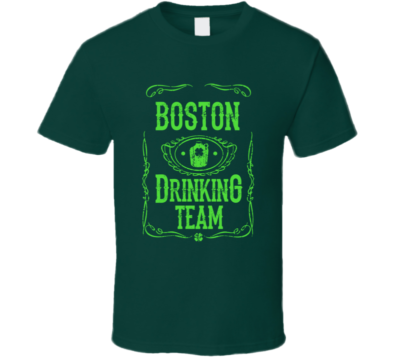 Member Of The Boston Drinking Team St. Patrick's Day T-shirt