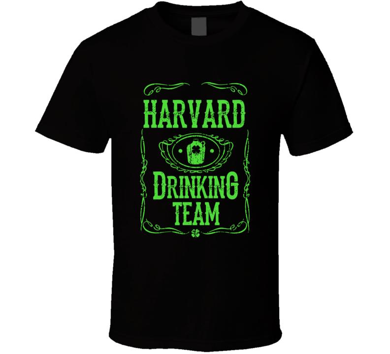 Member Of The Harvard Drinking Team St. Patrick's Day T-shirt