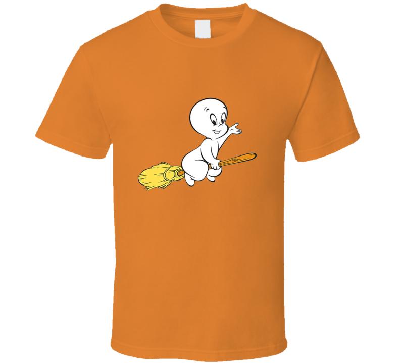 Casper The Friendly Ghost Cartoon Image Retro Classic Tshirt