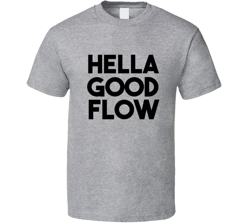 Hella Good Flow Yoga T-shirt