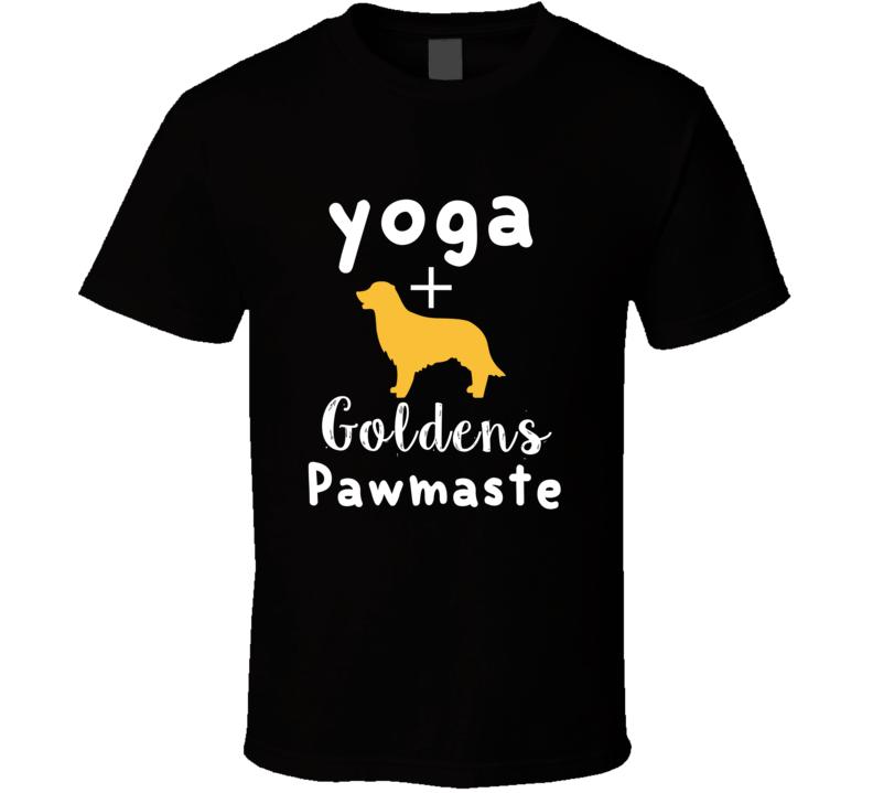 Yoga Plus + Goldens Pawmaste Dog Rescue T-shirt