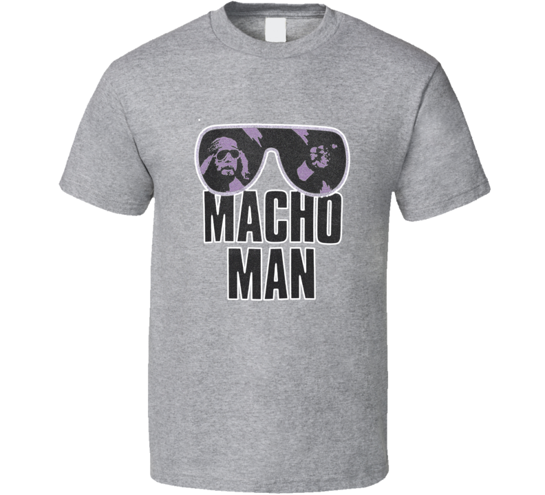 Macho Man Randy Savage Retro Vintage Wrestler T-shirt