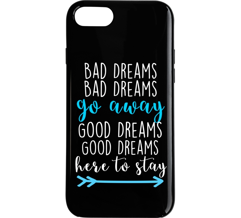 Grey's Anatomy Phone Case Bad Dream Go Away Black Iphone Case