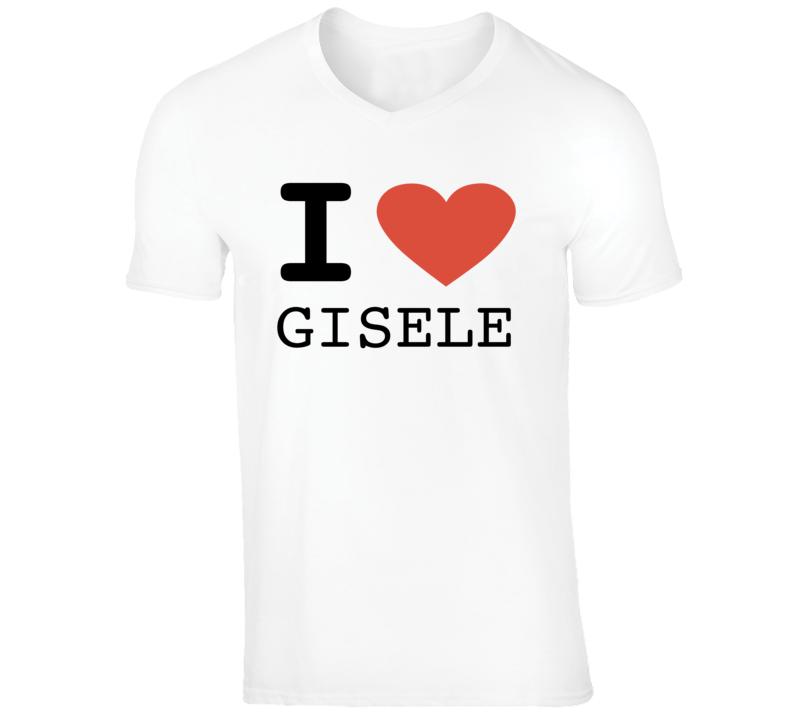 I Heart Gisele Dia Dos Namorados Tom Gisele Trending White T Shirt