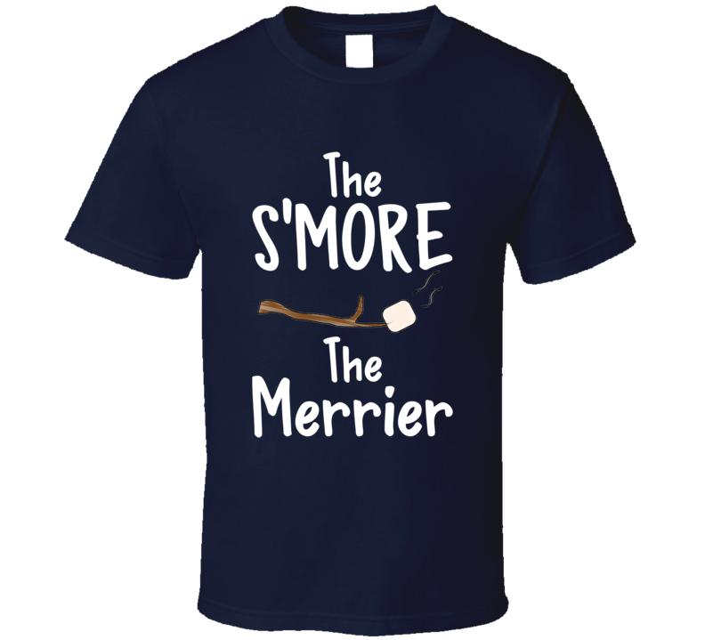The S'more The Merrier Summer Campfire Marshmellow Stick T-shirt