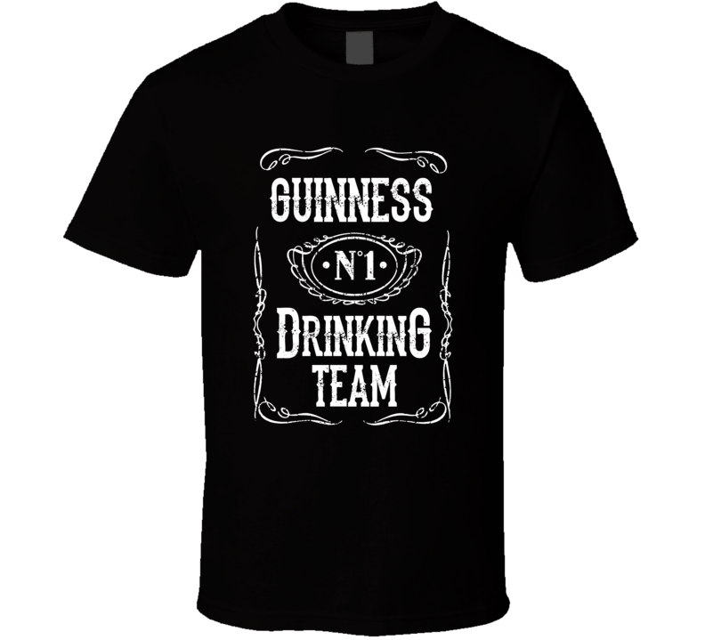 Guinness Beer Drinking Team Summer Party T-shirt