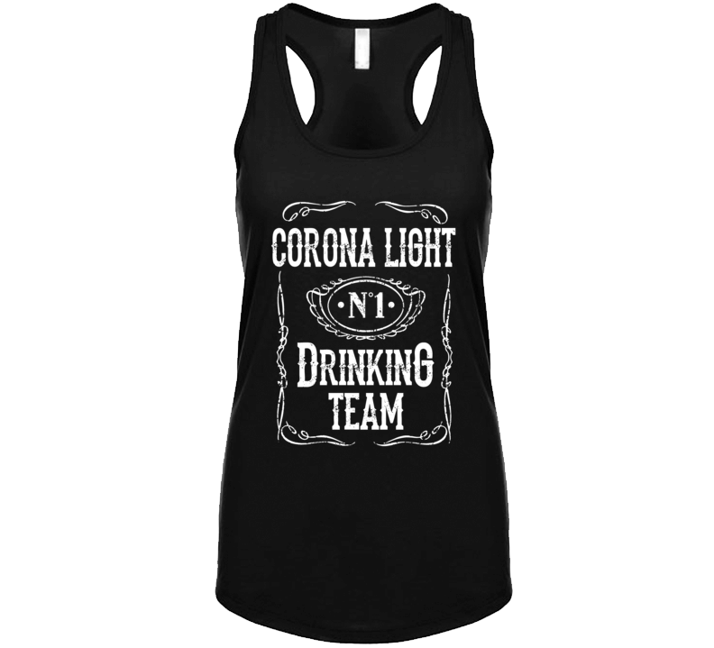 Corona Light Beer Drinking Team Summer Festival Tank Top