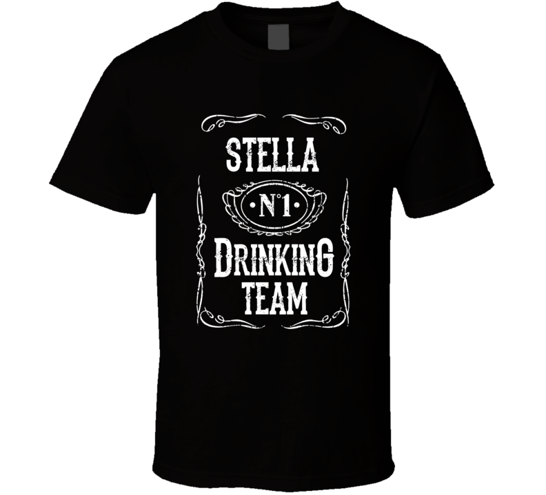 Stella Beer Drinking Team Summer Festival Tshirt