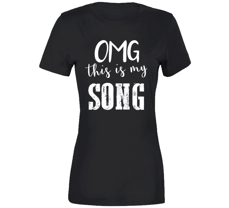 Omg This Is My Song Summer Country Music Ladies Festival Tank Top