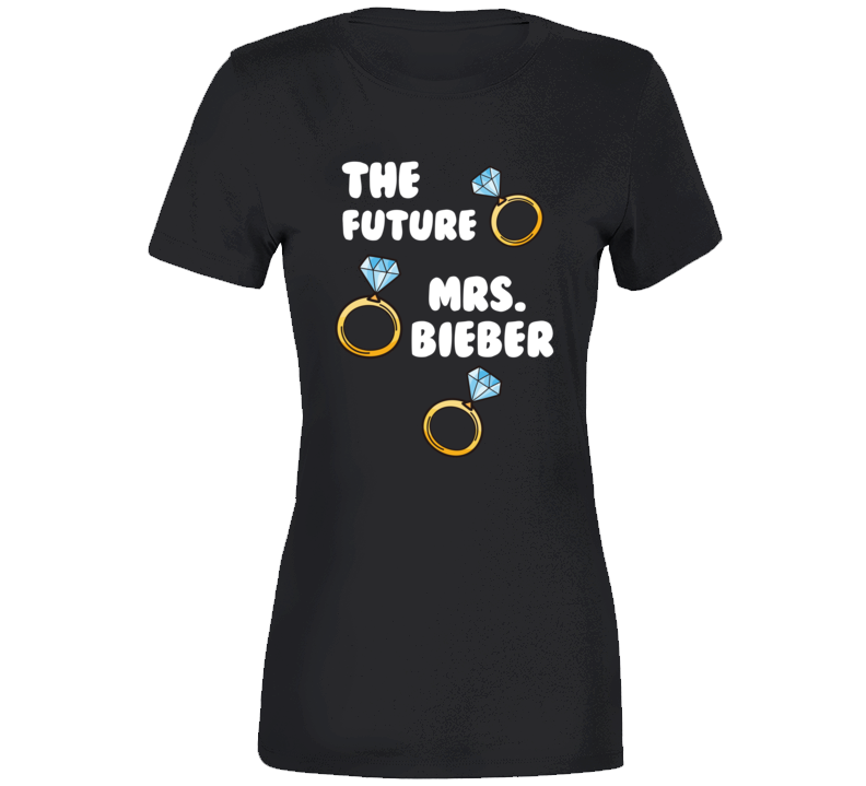 The Future Mrs. Bieber Hailey Bride Bachelorette T-shirt