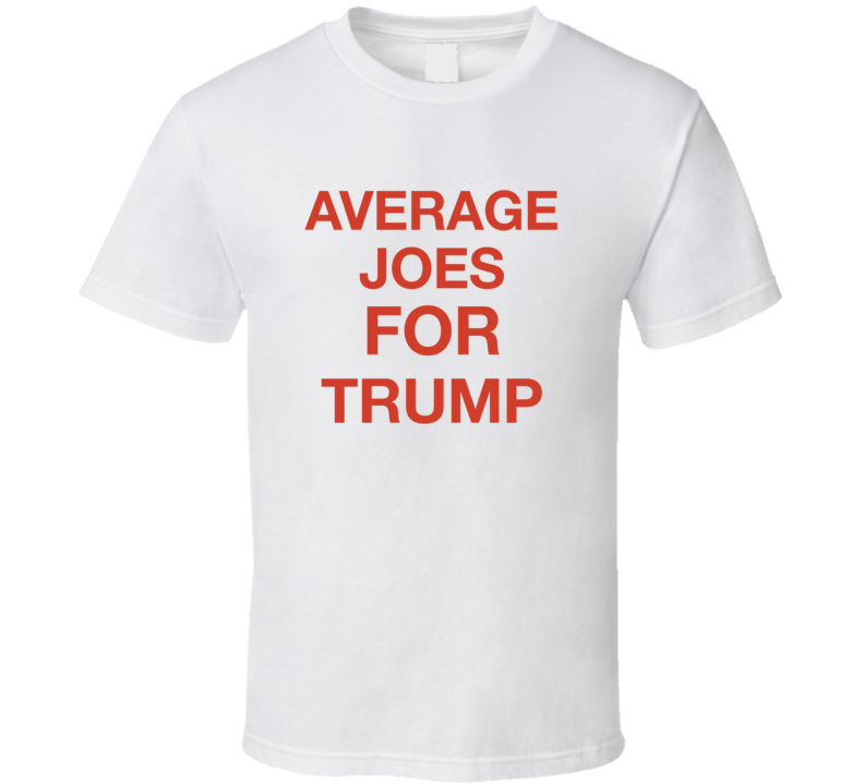 Mr. Burns Average Joes For Trump Simpsons Popular T-shirt