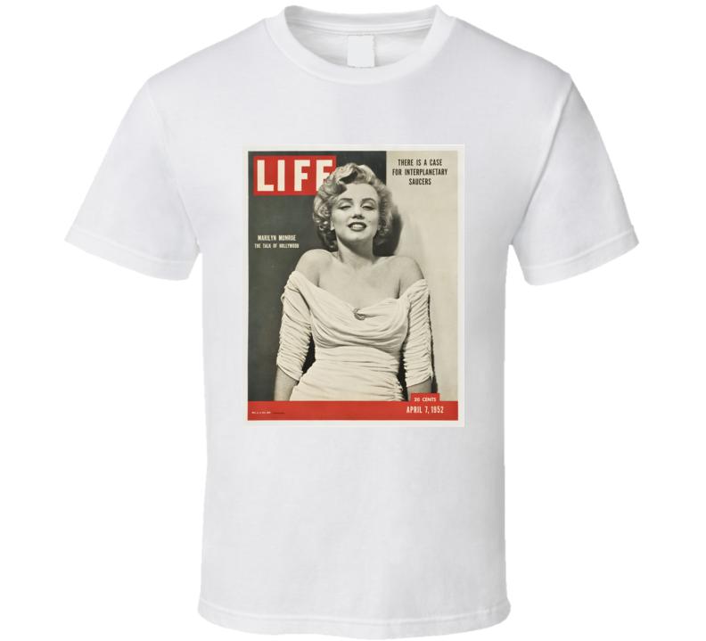 Marilyn Monroe Life Magazine Cover 1952 Vintage T-shirt