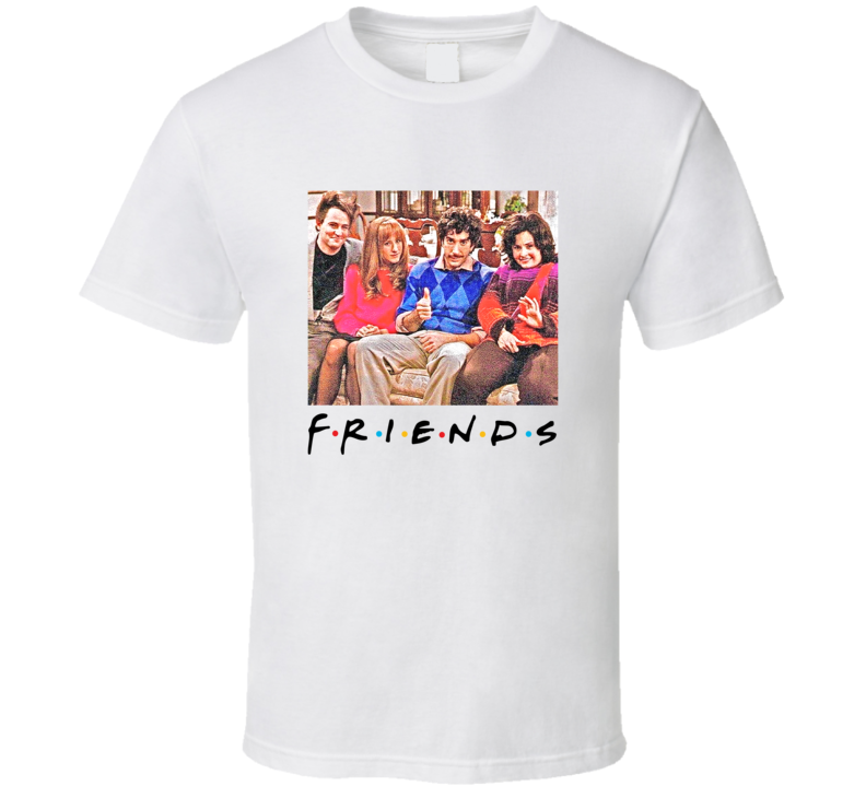 Friends Throwback Thanksgiving Episode T-shirt