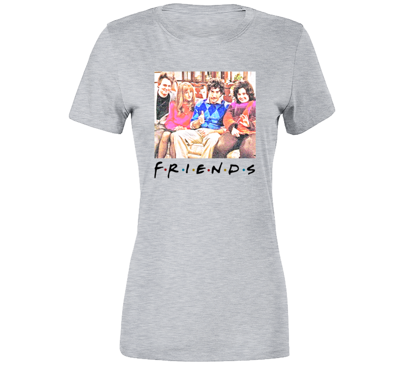Friends Throwback Thanksgiving Episode Ladies T Shirt
