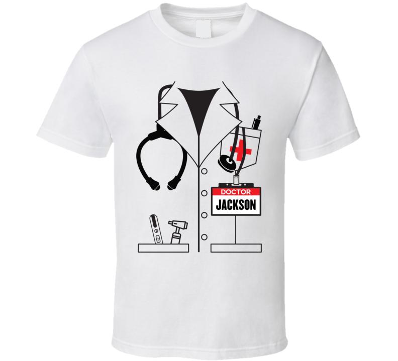 Doctor Jacket Jackson Avery Halloween Costume Funny T-shirt