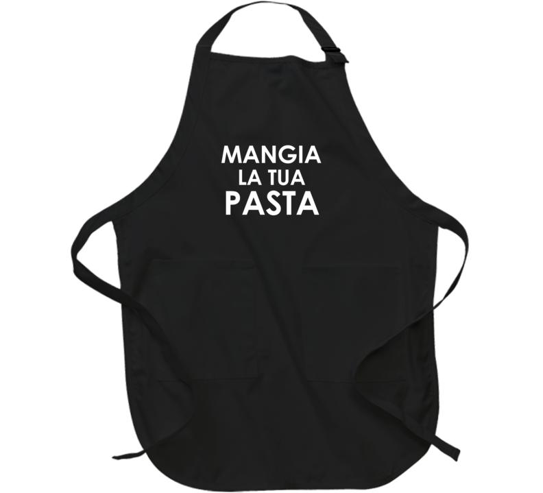 Mangia La Tua Pasta Italian Chef Family Apron