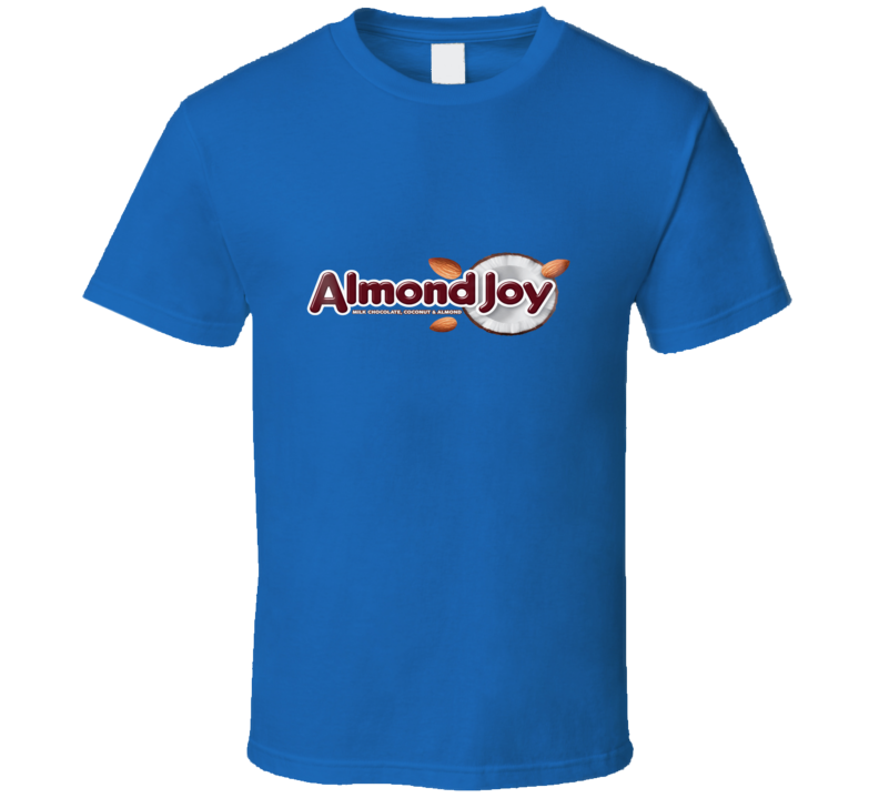 Almond Joy Classic Candy Bar Halloween Candy T Shirt
