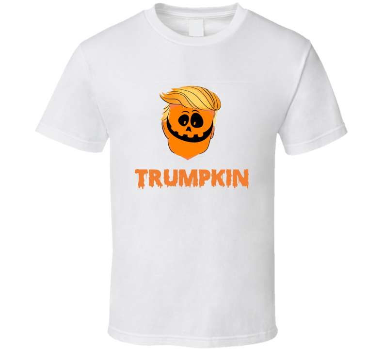 Trump Kin Make Halloween Great Again Donald Trump Pumpkin T-shirt