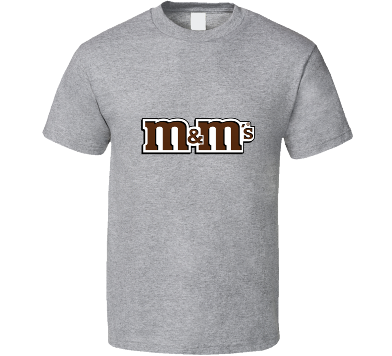 M And M's Halloween Candy Party Retro T-shirt