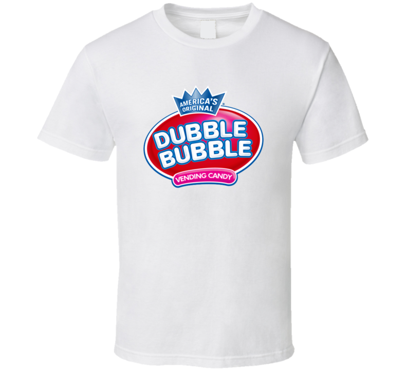 Dubble Bubble Candy Chewing Gum Vintage Halloween Candy Party T-shirt