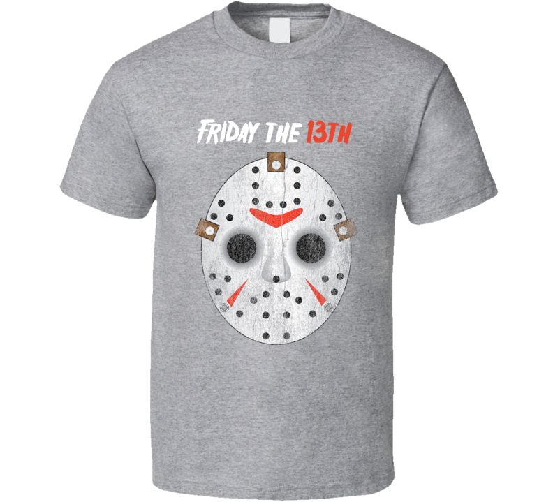 Jason Voorhees Mask Halloween Costume T-shirt