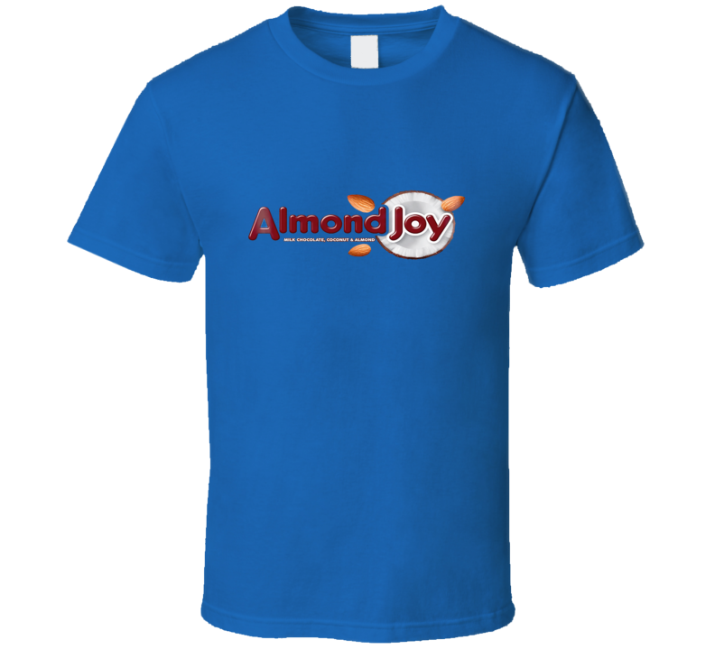 Almond Joy Candy Bar Classic Candy Halloween T-shirt