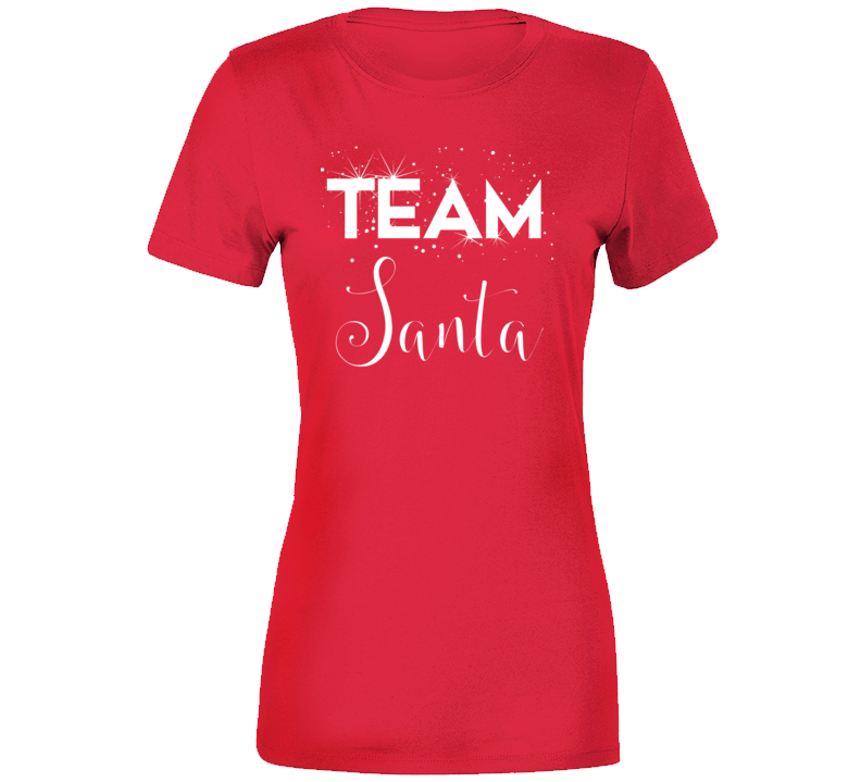 Team Santa Ladies Christmas Party 2018 T-shirt