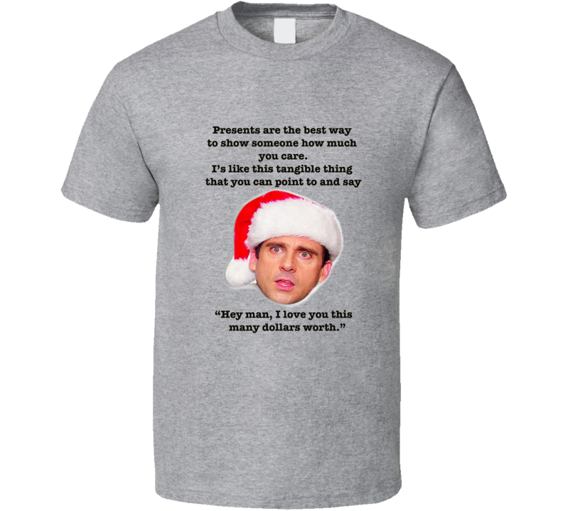 Michael Scott The Office Christmas Episode Quote T-shirt
