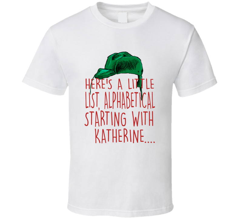 Cousin Eddie Here's A Little List Christmas Vacation Quote T-shirt