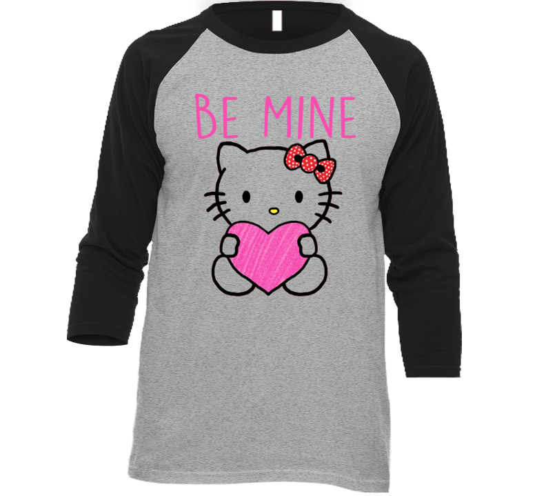 Hello Kitty Be Mine Valentine Graphic Style T-shirt