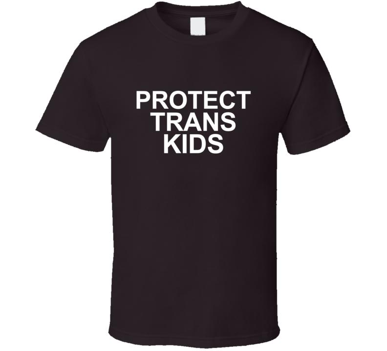 Protect Trans Kids SNL LGBT Pride Community T-shirt